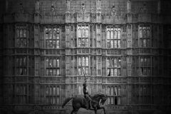 London-House-of-Parliament-100x100cm-bn